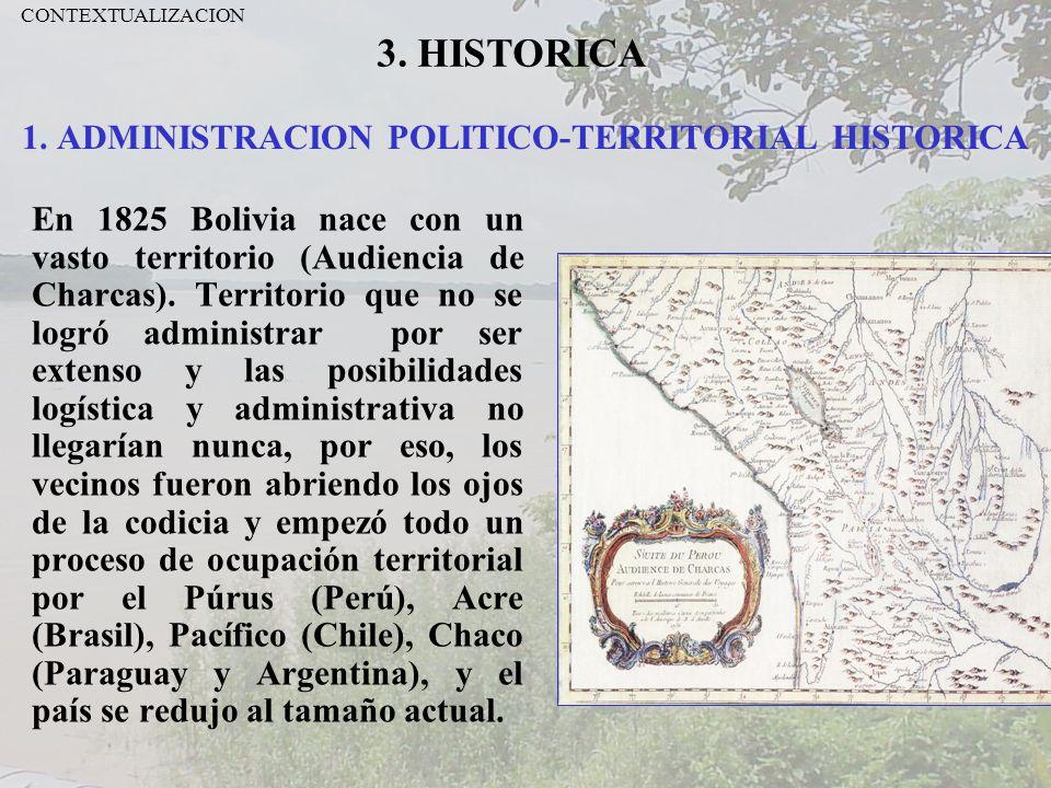 1. ADMINISTRACION POLITICO-TERRITORIAL HISTORICA