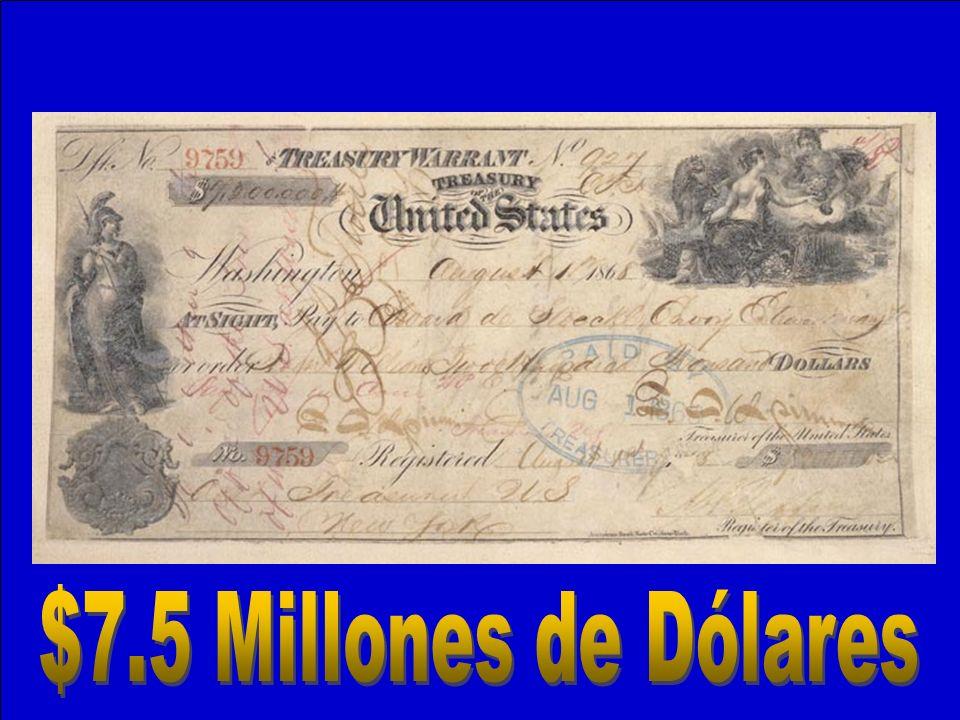 $7.5 Millones de Dólares