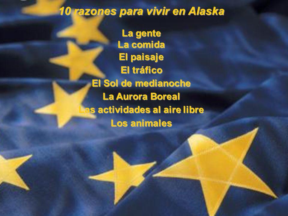 10 razones para vivir en Alaska Las actividades al aire libre