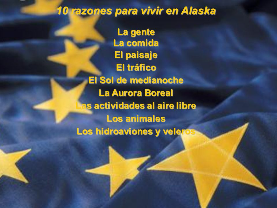 10 razones para vivir en Alaska