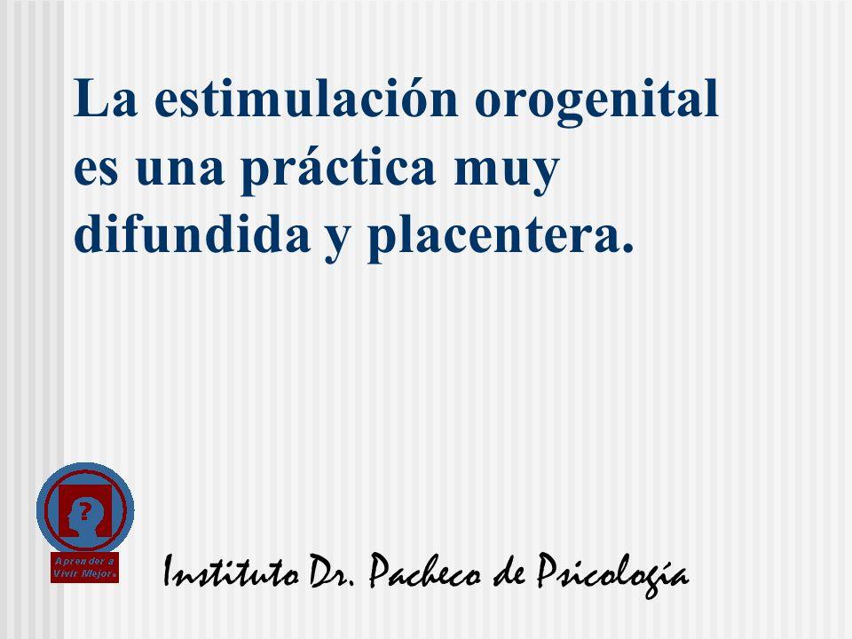 La estimulación orogenital es una práctica muy difundida y placentera.