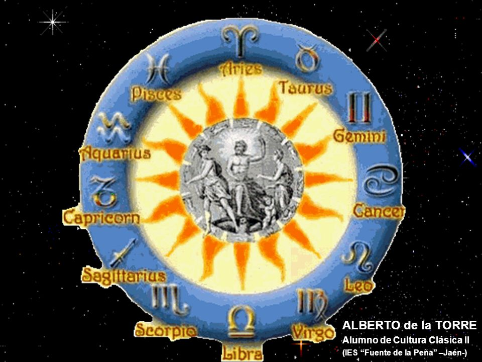 ALBERTO de la TORRE Alumno de Cultura Clásica II