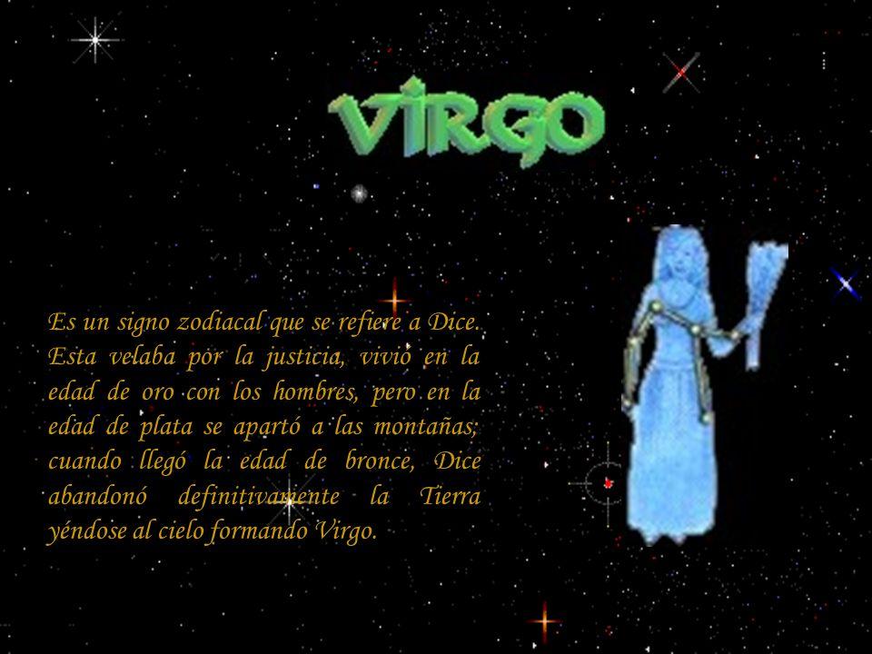 Es un signo zodiacal que se refiere a Dice