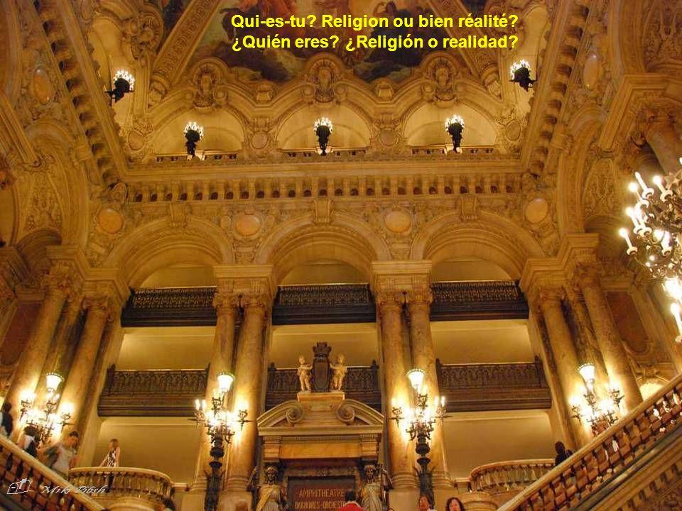 Qui-es-tu Religion ou bien réalité ¿Quién eres ¿Religión o realidad