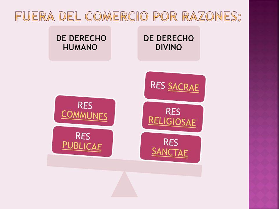 FUERA DEL COMERCIO POR RAZONES: