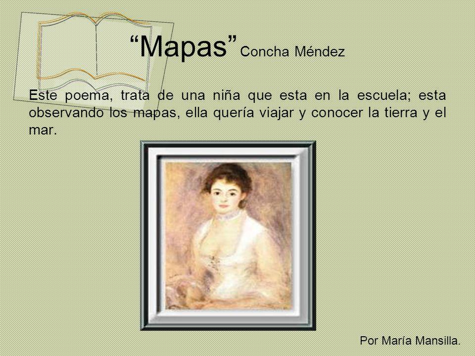 Mapas Concha Méndez