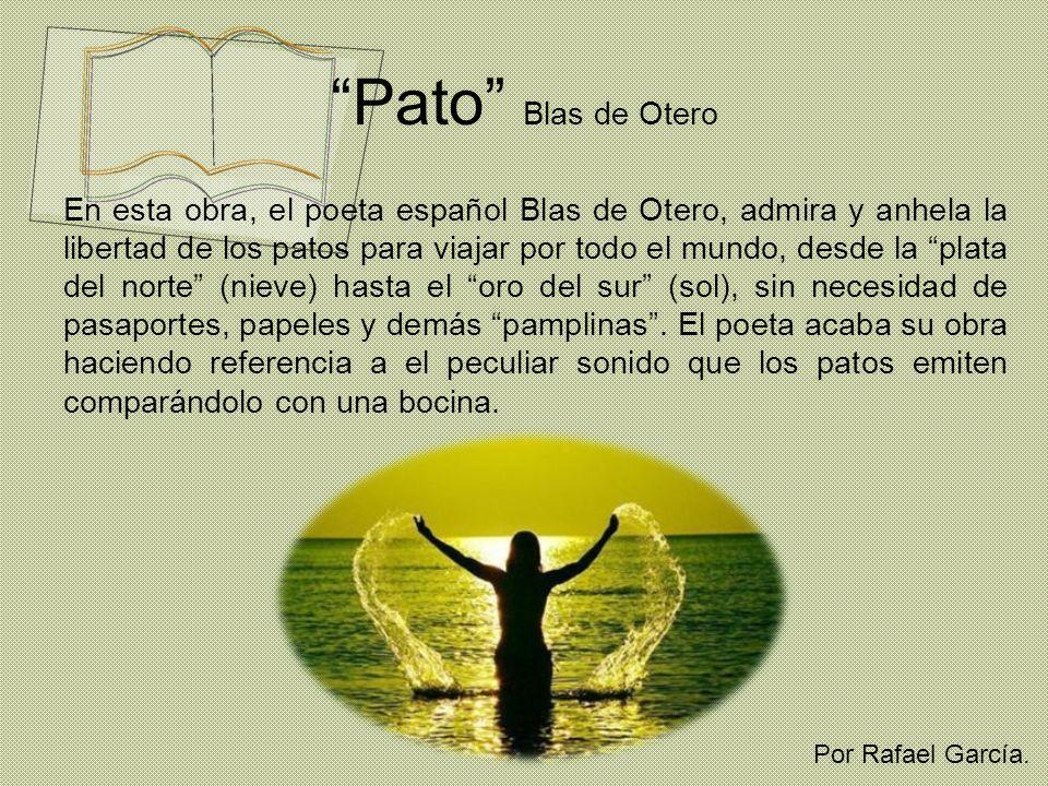 Pato Blas de Otero