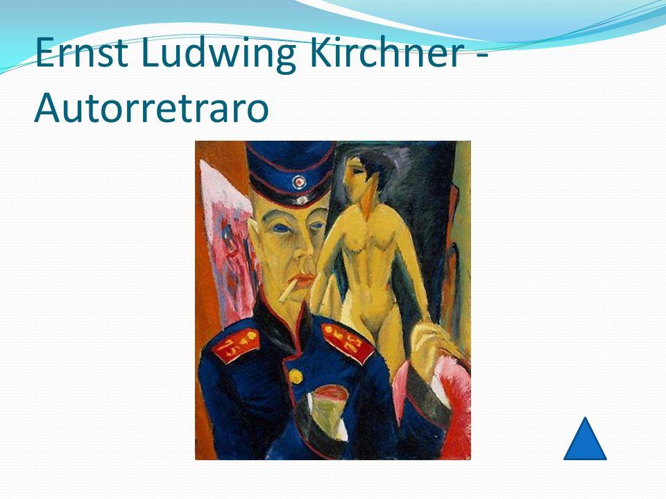 Ernst Ludwing Kirchner - Autorretraro