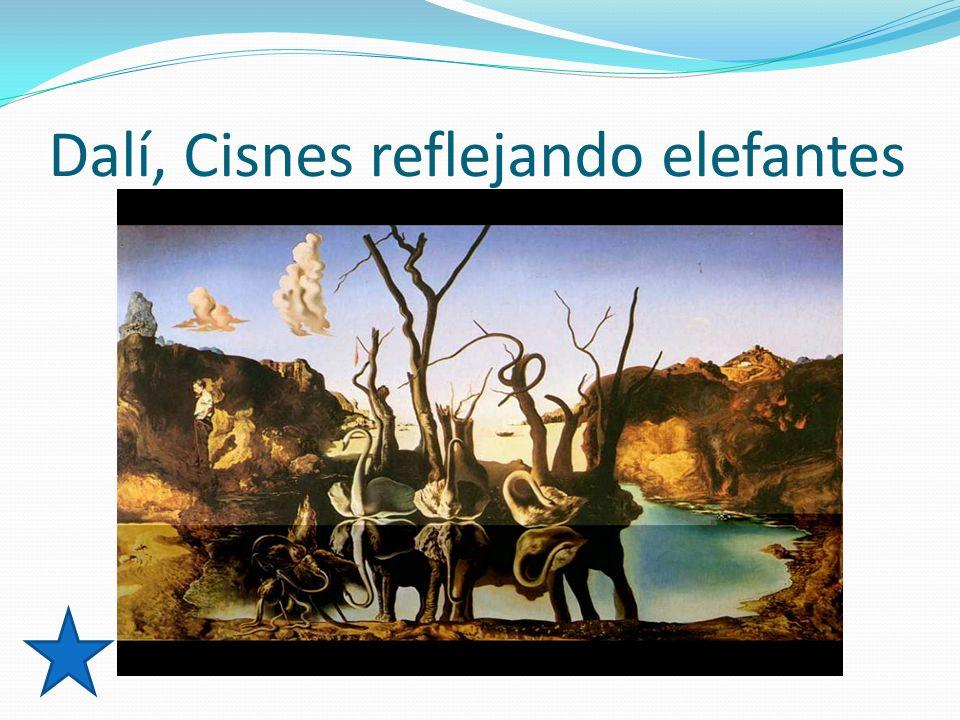 Dalí, Cisnes reflejando elefantes