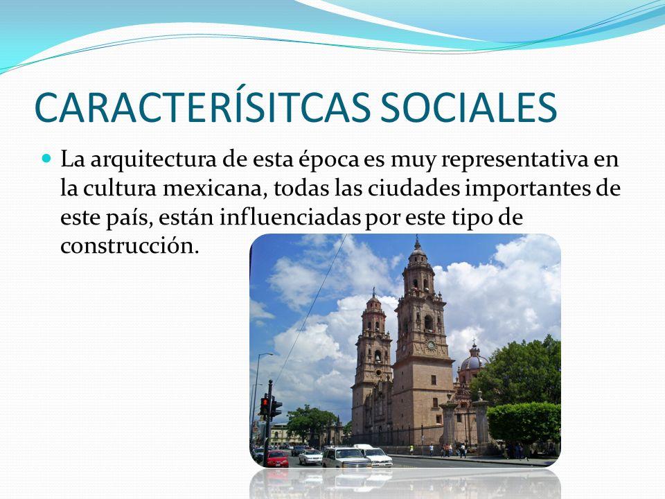 CARACTERÍSITCAS SOCIALES