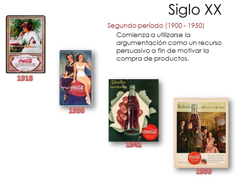 Siglo XX 1918 1936 1942 1950 Segundo período (1900 - 1950)