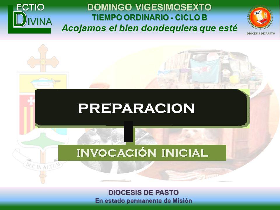 PREPARACION INVOCACIÓN INICIAL
