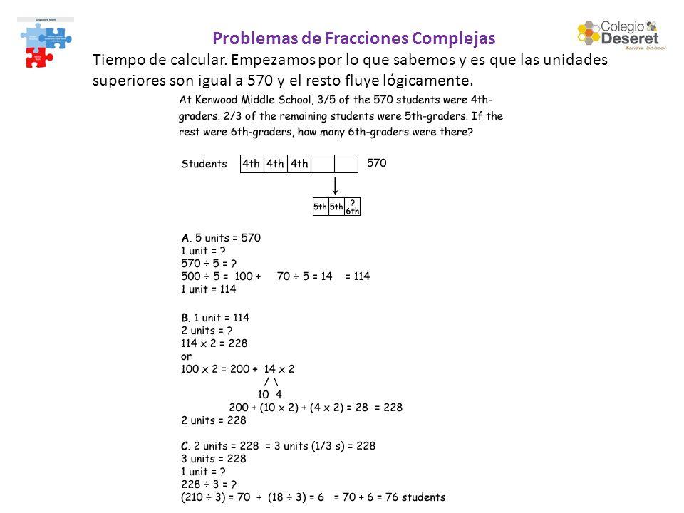 Problemas de Fracciones Complejas