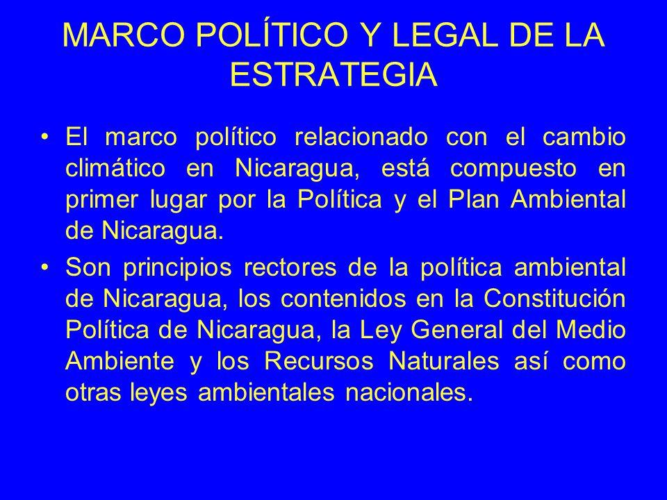 MARCO POLÍTICO Y LEGAL DE LA ESTRATEGIA