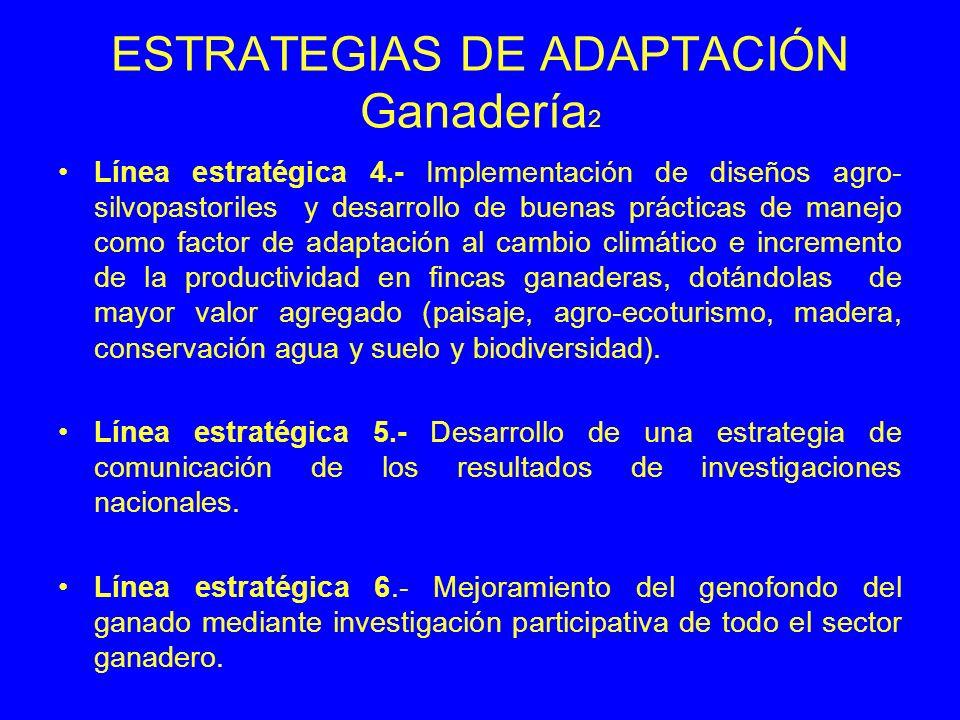 ESTRATEGIAS DE ADAPTACIÓN Ganadería2