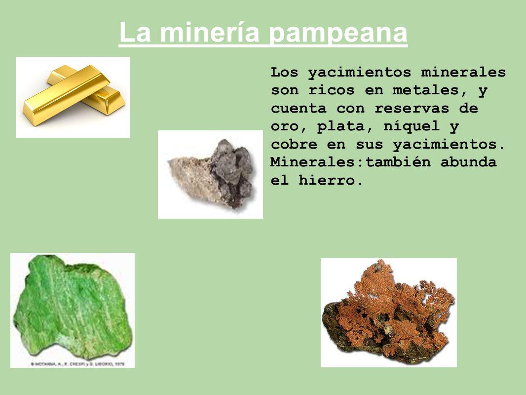 La minería pampeana