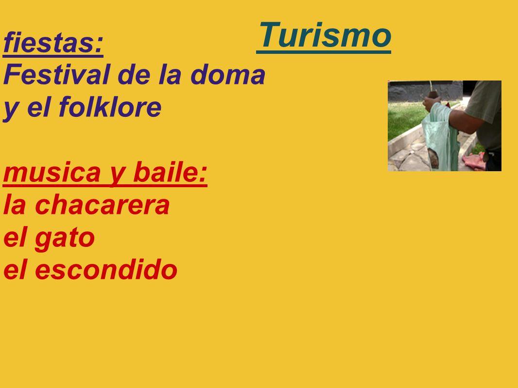 Turismo fiestas: Festival de la doma y el folklore musica y baile: