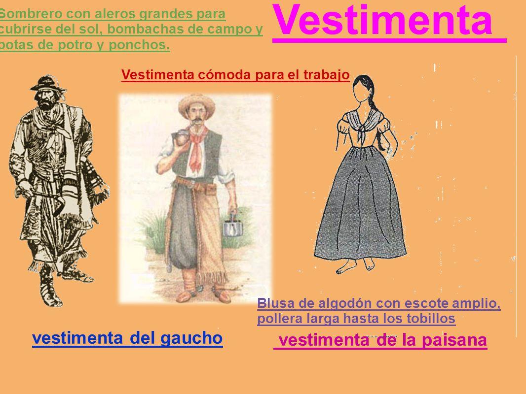 Vestimenta vestimenta de la paisana vestimenta del gaucho