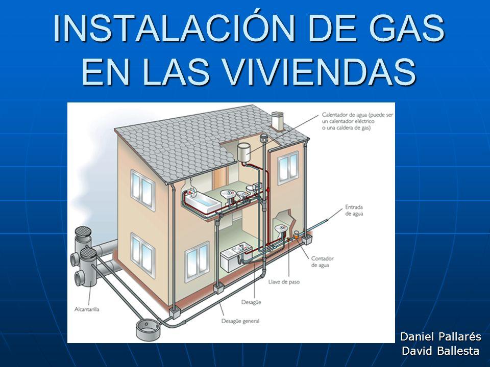 INSTALACIÓN DE GAS EN LAS VIVIENDAS