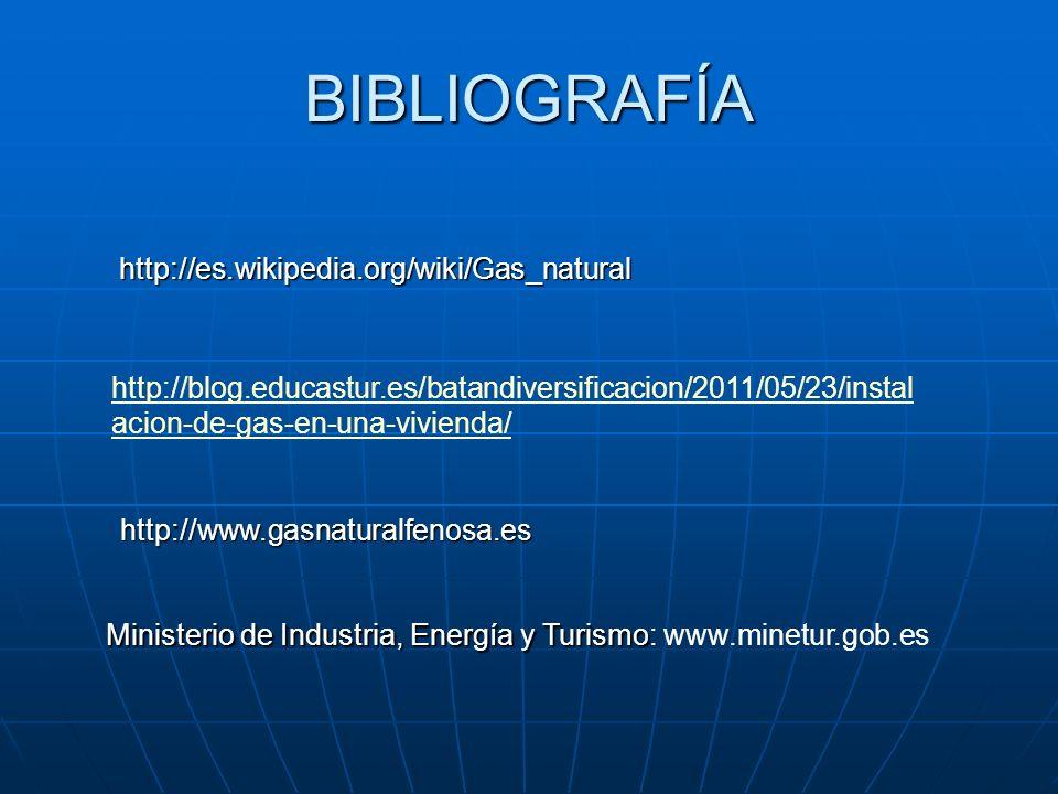 BIBLIOGRAFÍA http://es.wikipedia.org/wiki/Gas_natural
