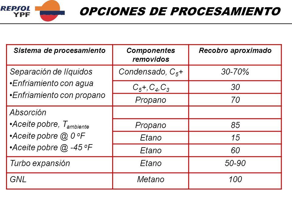 Sistema de procesamiento Componentes removidos