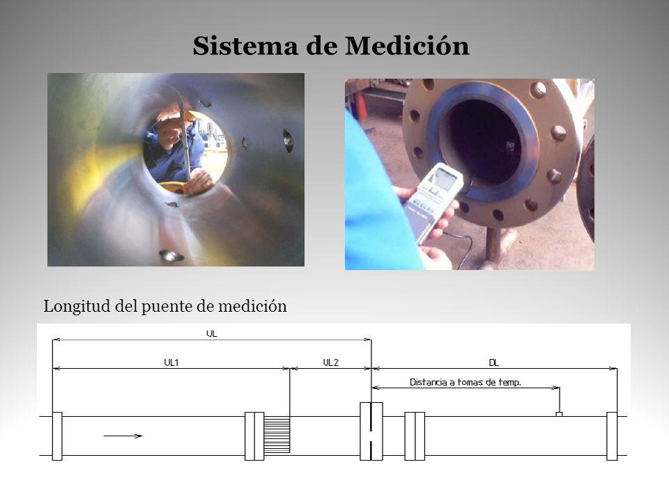 Sistema de Medición Longitud del puente de medición