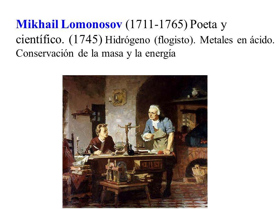 Mikhail Lomonosov (1711-1765) Poeta y científico