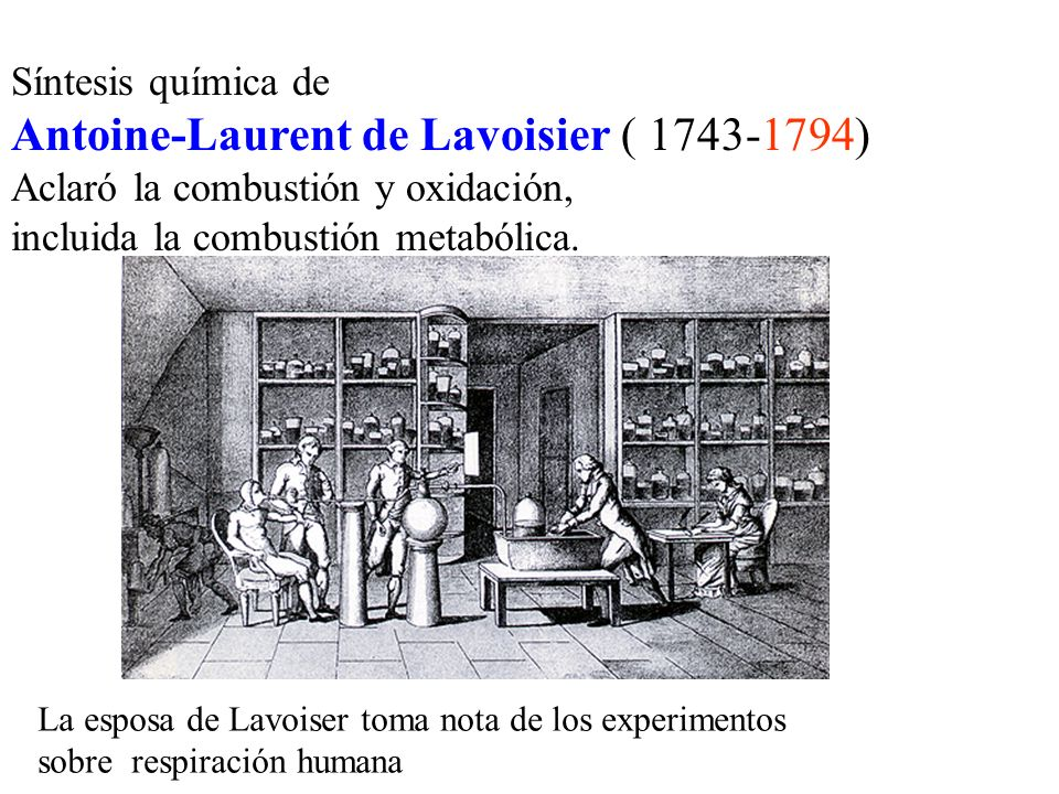 Antoine-Laurent de Lavoisier ( 1743-1794)