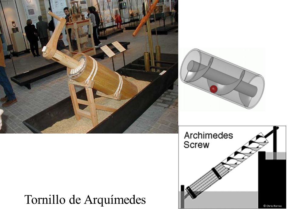 Tornillo de Arquímedes