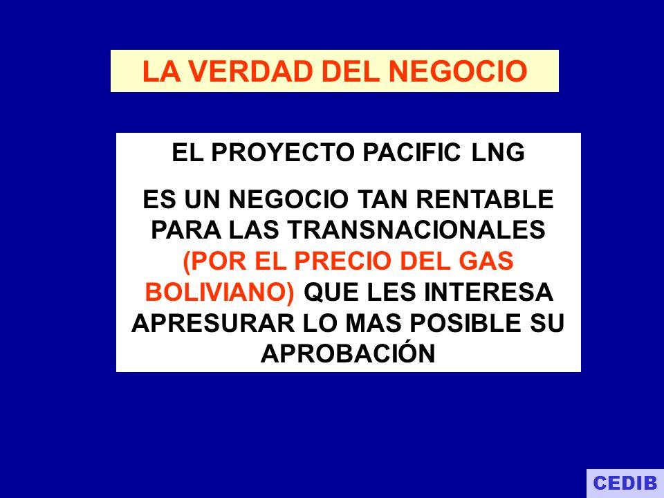 EL PROYECTO PACIFIC LNG