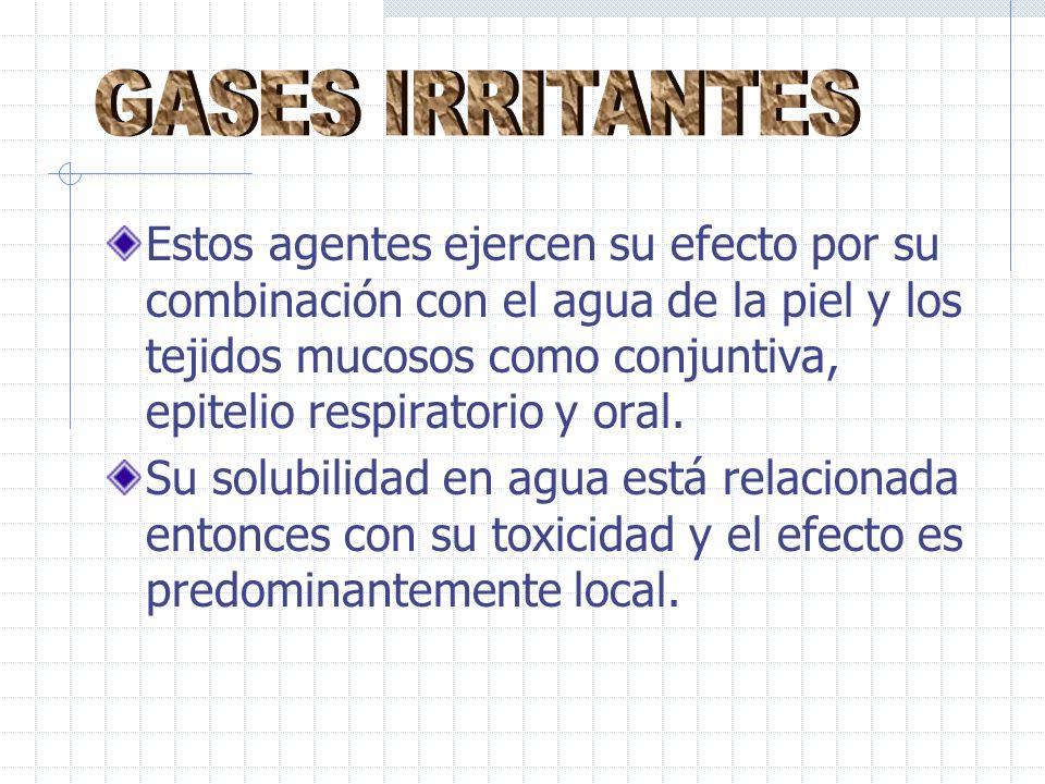 GASES IRRITANTES