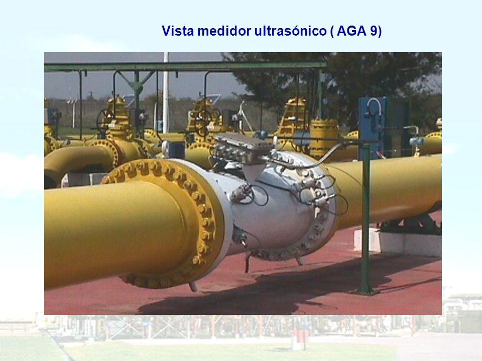 Vista medidor ultrasónico ( AGA 9)