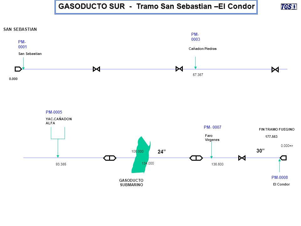 GASODUCTO SUR - Tramo San Sebastian –El Condor
