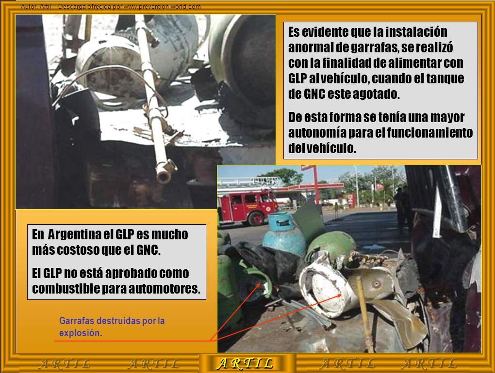 En Argentina el GLP es mucho más costoso que el GNC.