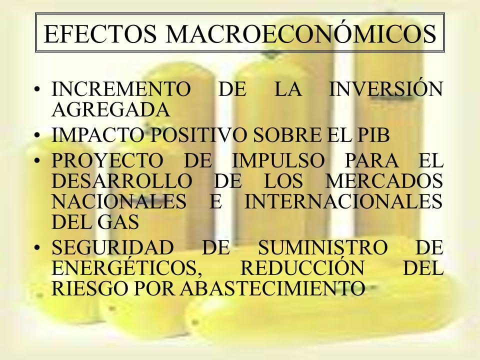 EFECTOS MACROECONÓMICOS