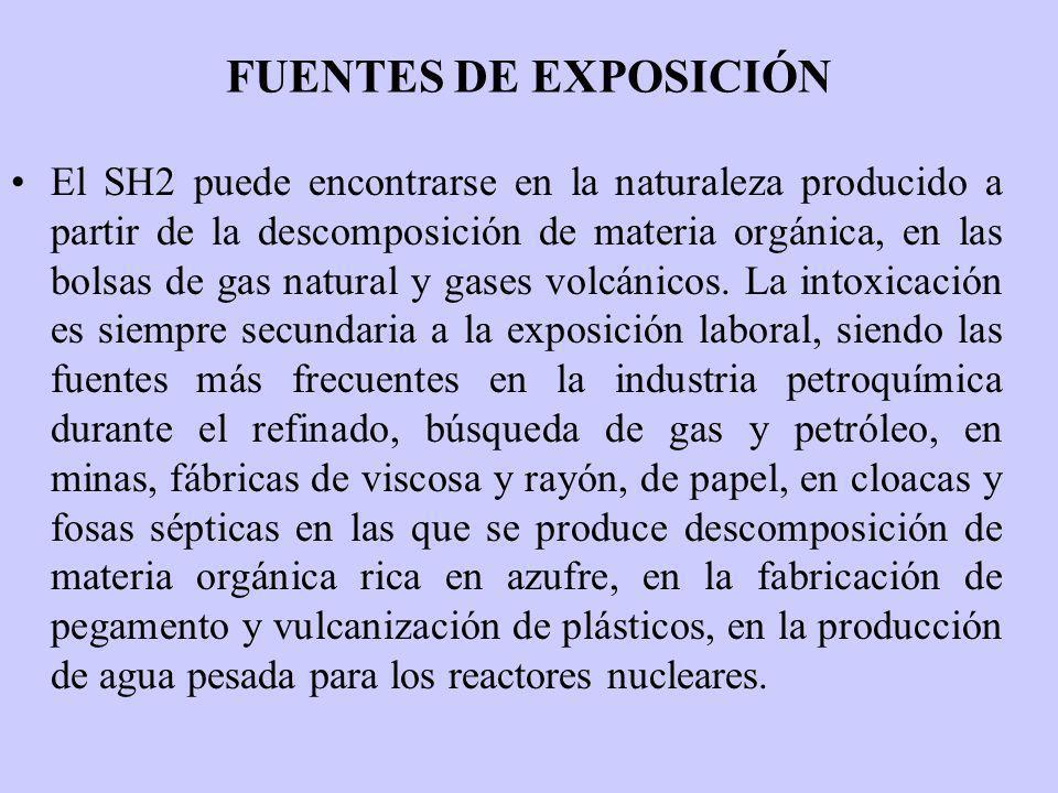 FUENTES DE EXPOSICIÓN