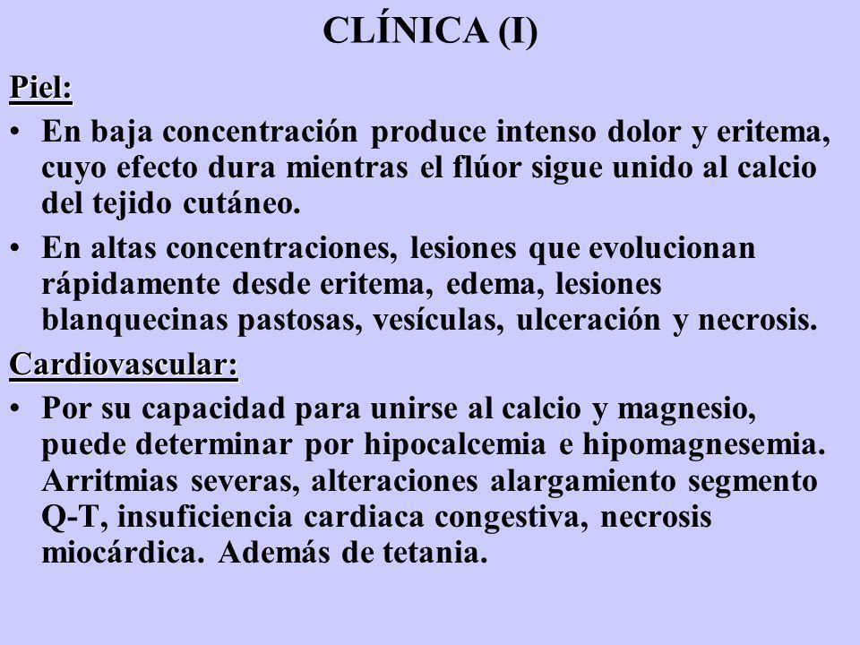 CLÍNICA (I) Piel: