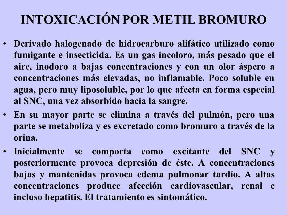 INTOXICACIÓN POR METIL BROMURO