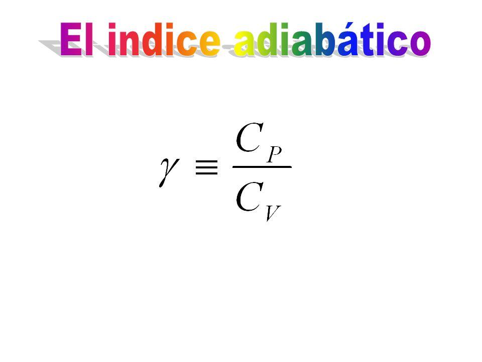 El indice adiabático