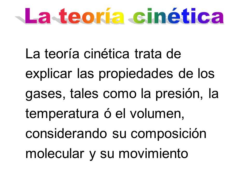 La teoría cinética