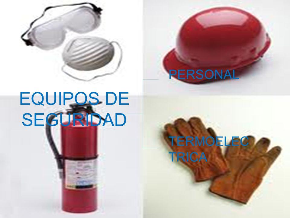 PERSONAL EQUIPOS DE SEGURIDAD TERMOELECTRICA