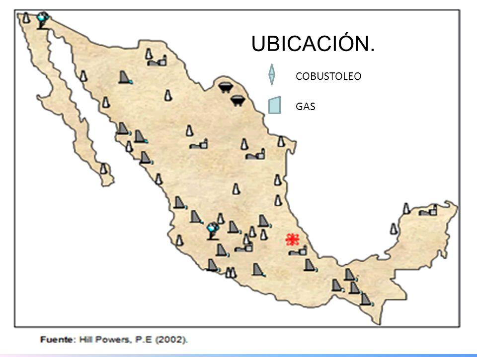 UBICACIÓN. COBUSTOLEO GAS 23