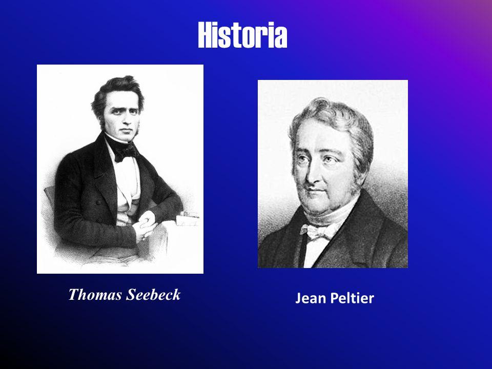 Historia Thomas Seebeck Jean Peltier