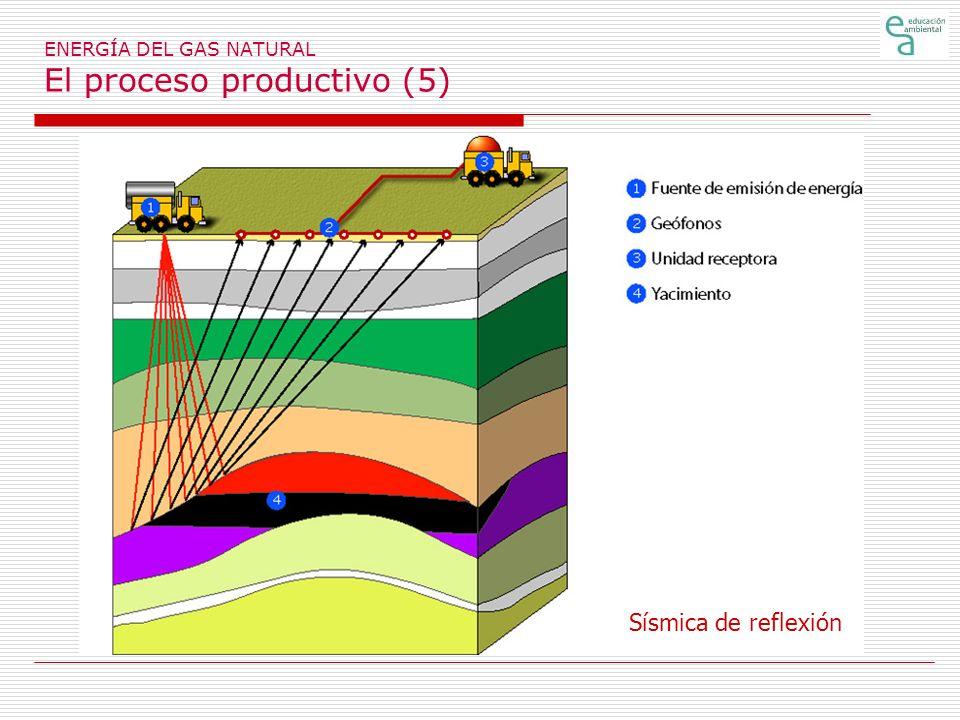 ENERGÍA DEL GAS NATURAL El proceso productivo (5)
