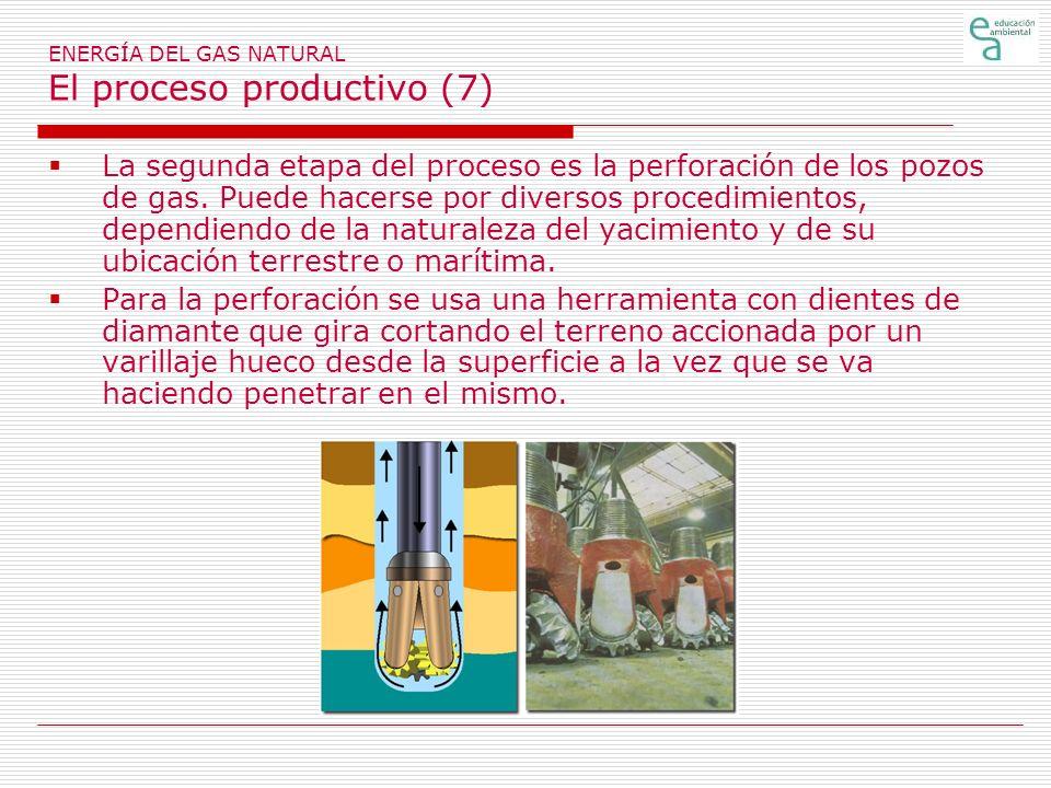 ENERGÍA DEL GAS NATURAL El proceso productivo (7)