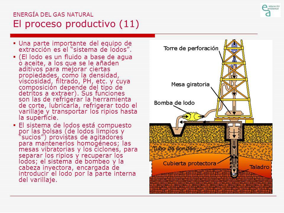 ENERGÍA DEL GAS NATURAL El proceso productivo (11)