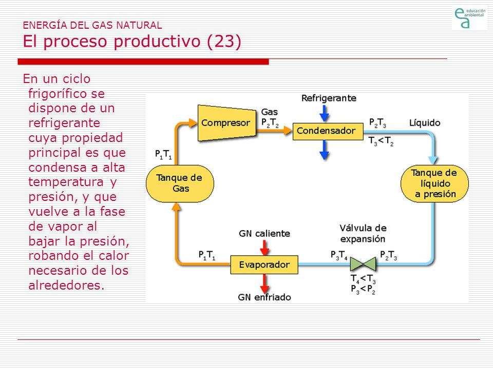 ENERGÍA DEL GAS NATURAL El proceso productivo (23)