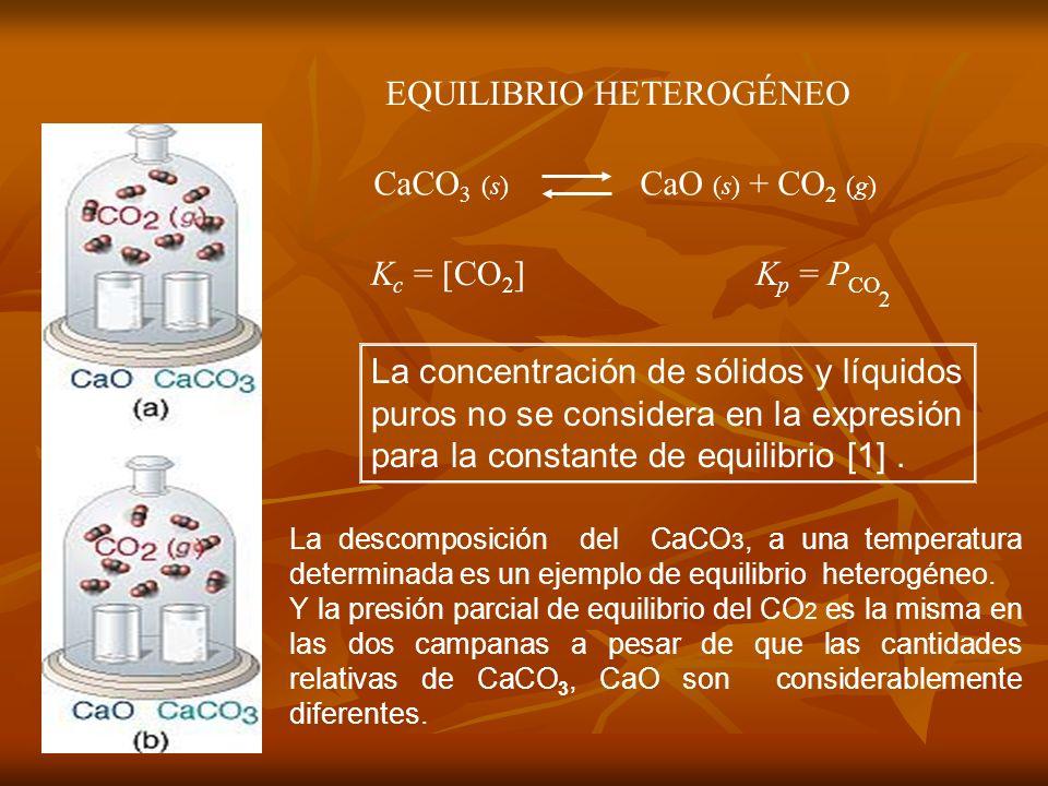 EQUILIBRIO HETEROGÉNEO