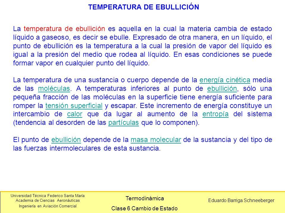 TEMPERATURA DE EBULLICIÓN