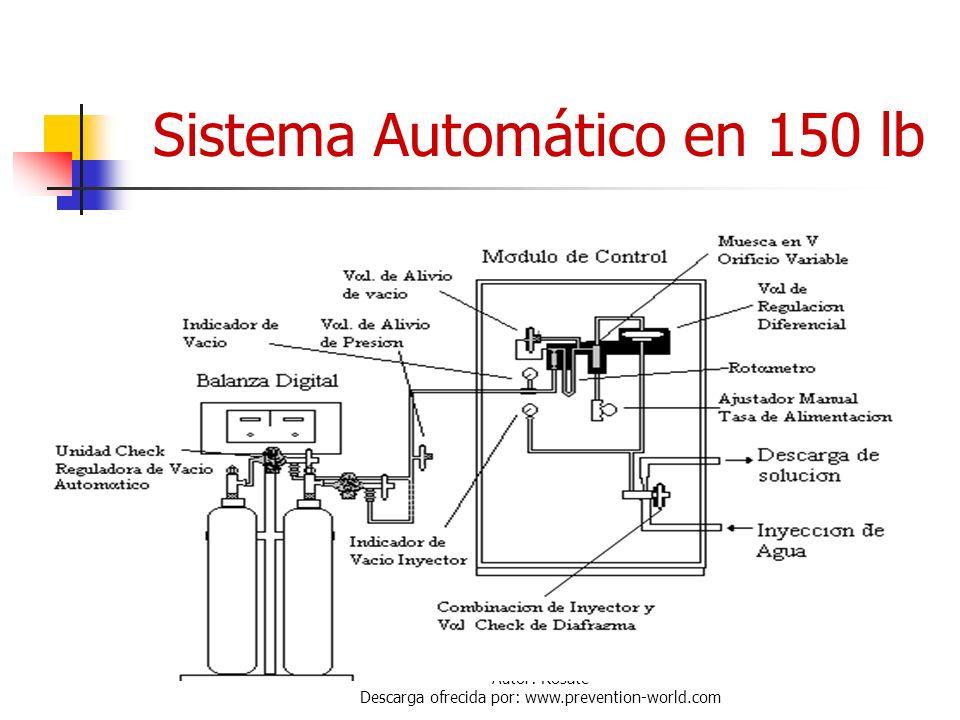 Sistema Automático en 150 lb